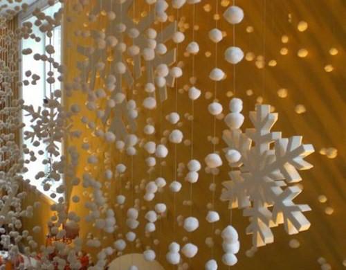 Декор на новогодний стол своими руками