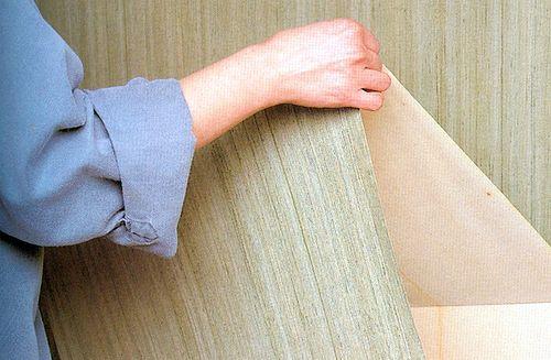 Удаление бумажных обоев - приподнять обои