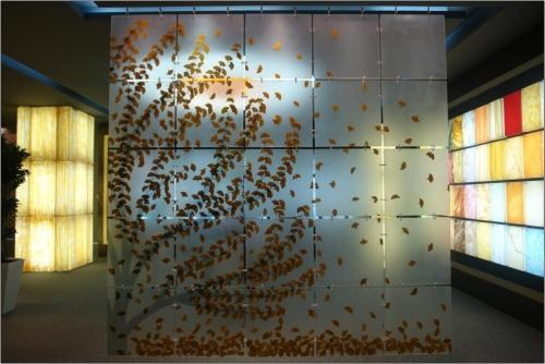 3D панели из акрилового стекла