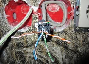 Расправляем провода